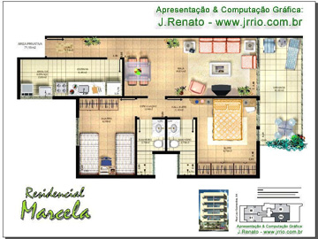 Plantas de Casas - Projetos de Casas, Modelos de Casas